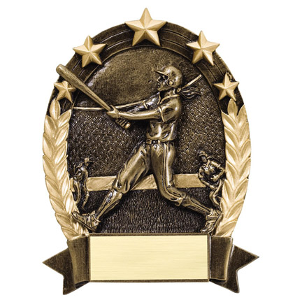 5 Star Oval Softball Trophy (ROP5502) | Dudleys Wholesale ...