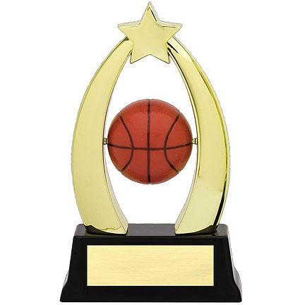 Basketball Star Spinner Trophy SPIN10 03
